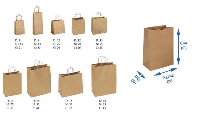 Kích thước bao bì là 1 yếu tố cần lưu ý trong quy trình in ấn (Ảnh minh họa)