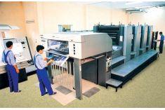 Quy trình in ấn bao bì hộp giấy bằng in offset