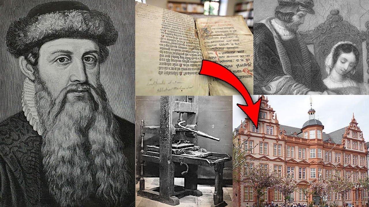 "Johannes Gutenberg – ""Ông Tổ nghề in"""