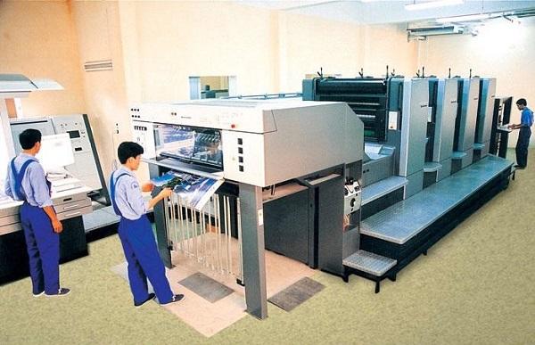 Công nghệ in offset bằng máy in hiện đại