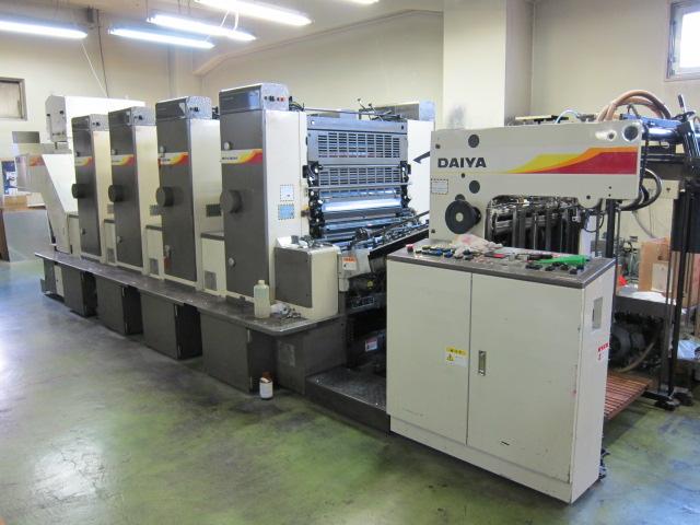 Xưởng in ấn sử dụng công nghệ in offset