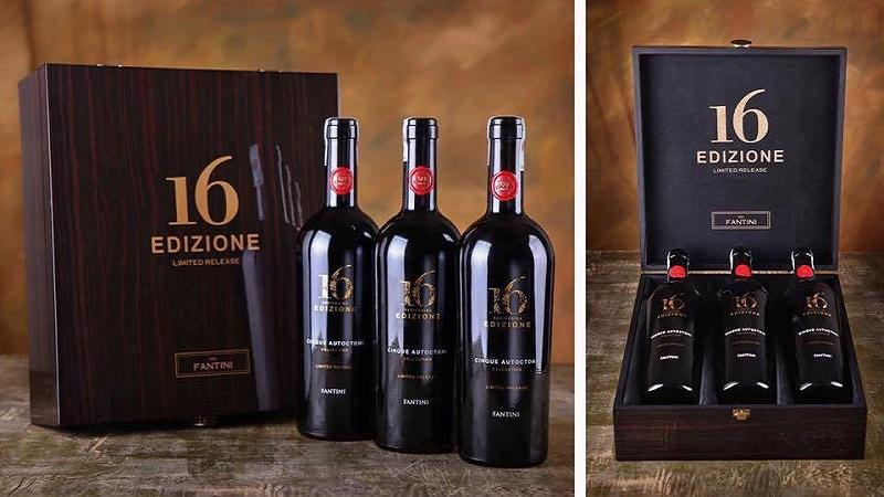 Hộp được thiết kế tùy theo số lượng chai rượu chứa đựng
